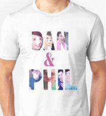 DAN & PHIL PICTURE DESIGN. Unisex T-Shirt
