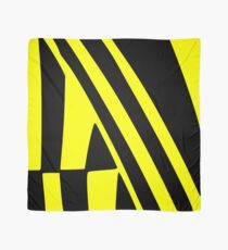 BLACK and YELLOW DAZZLE Scarf