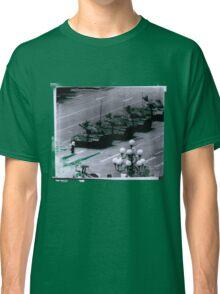 """1989 Tiananmen square Tank Man"" T-Shirt etc... Classic T-Shirt"