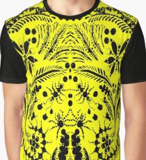 Black and Yellow Jungle Graphic T-Shirt