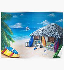 Surfer's Paradise Poster