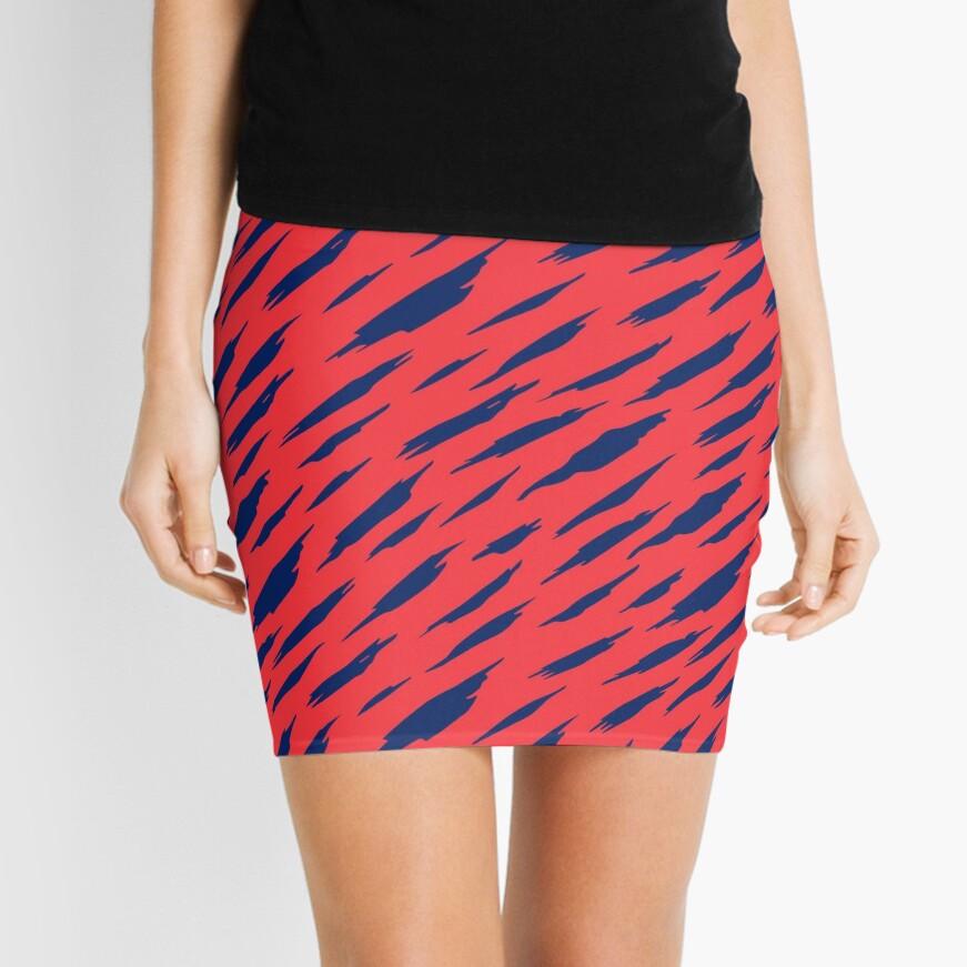 Abstract pattern Mini Skirt