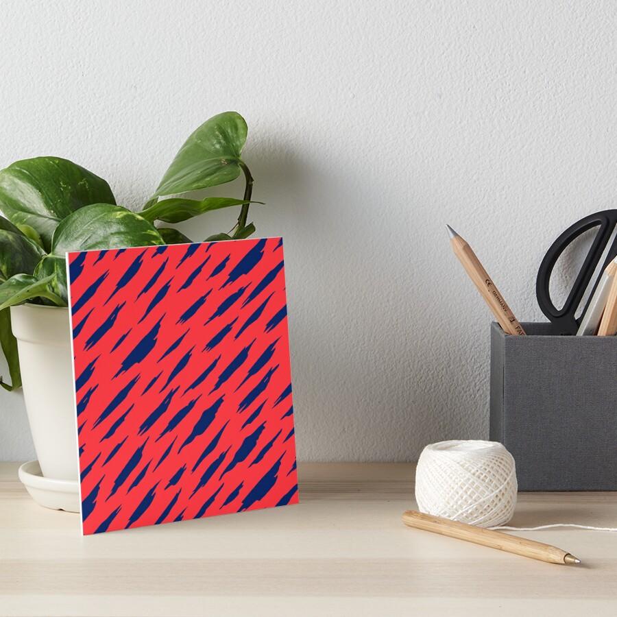 Abstract pattern Art Board Print