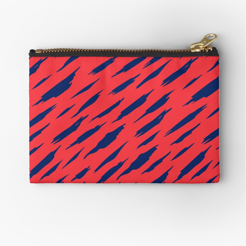 Abstract pattern Zipper Pouch