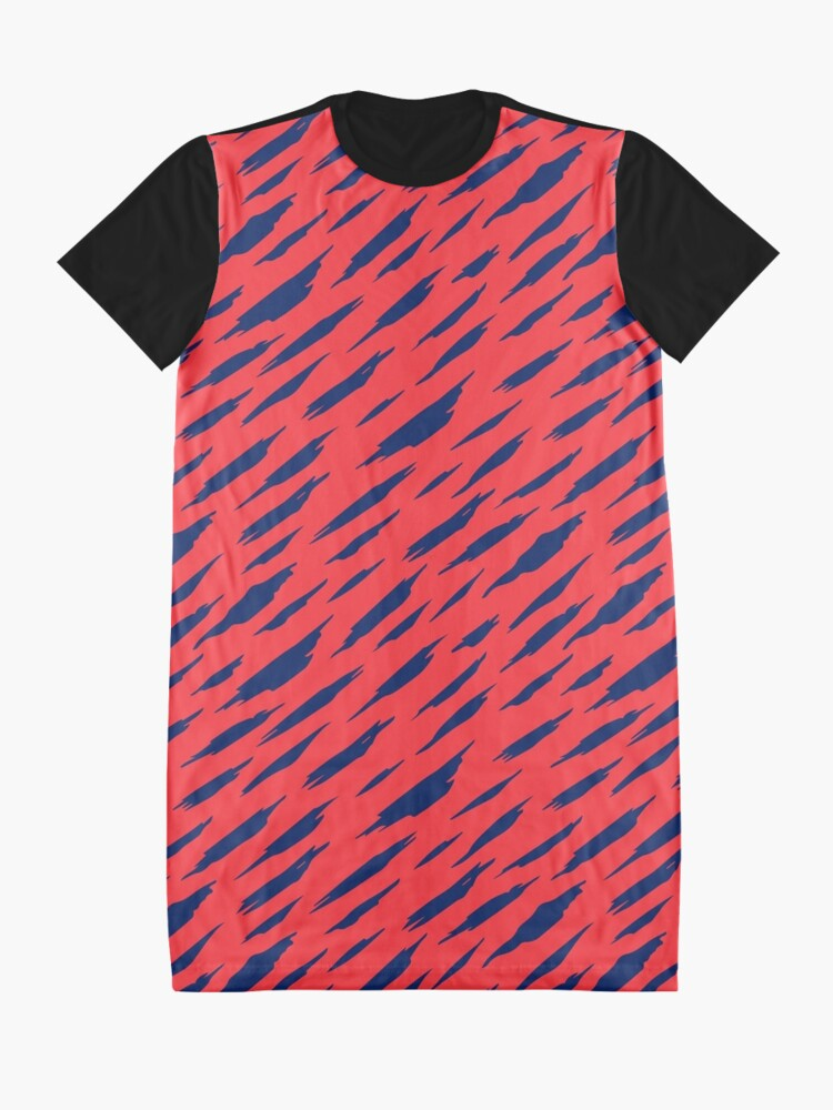 Alternate view of  Abstract pattern Graphic T-Shirt Dress