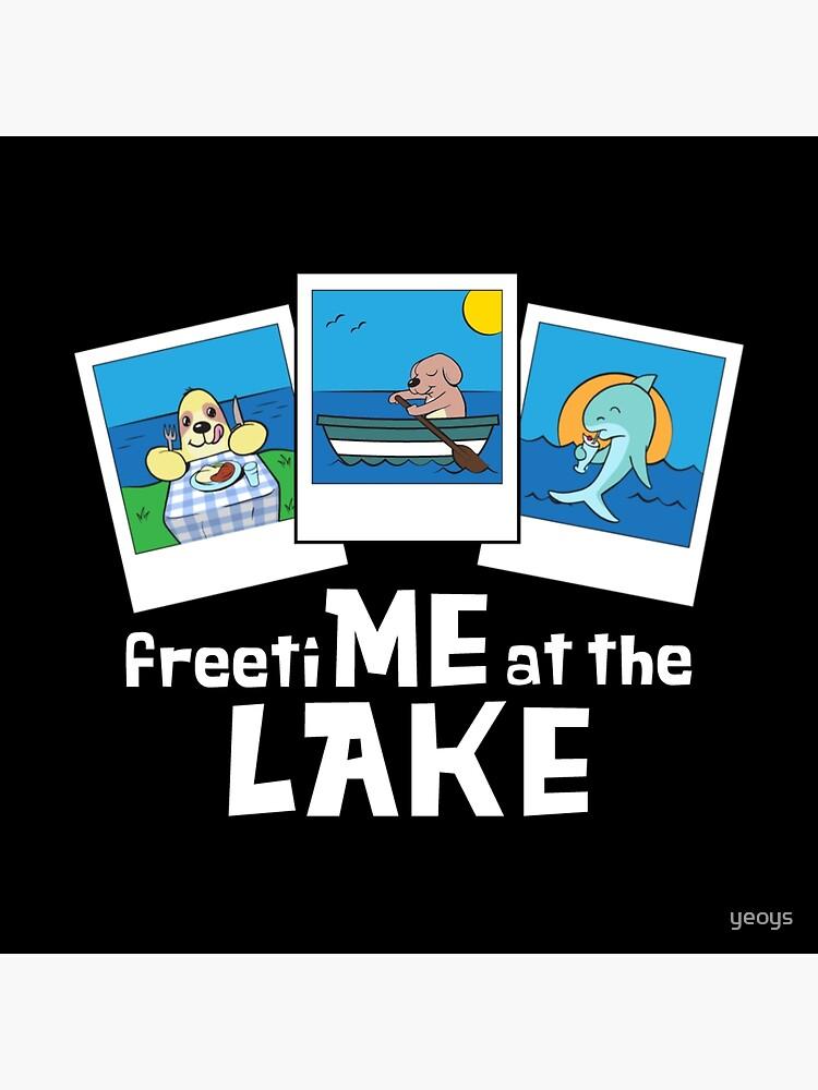 Freizeit am See - lustiger See zitiert Geschenk von yeoys