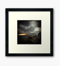 Storm Notes - Piran, Slovenia Framed Print