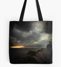 Storm Notes - Piran, Slovenia Tote Bag