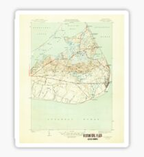 Massachusetts  USGS Historical Topo Map MA Siasconset 352178 1945 31680 Sticker