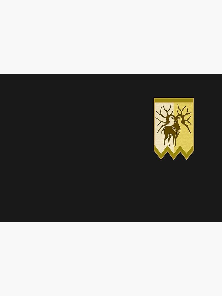 Golden Deer Logo - Version 2 by AngeliaLucis