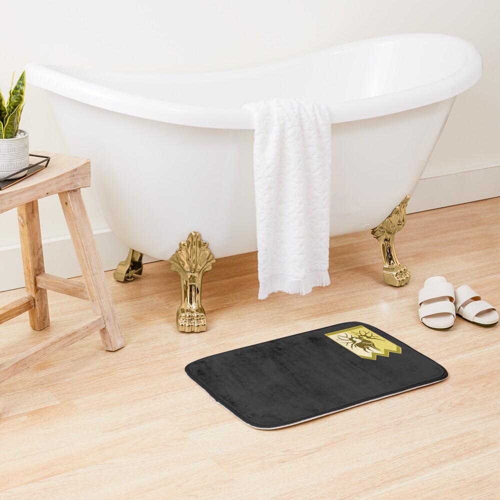 Golden Deer Logo - Version 2 Bath Mat