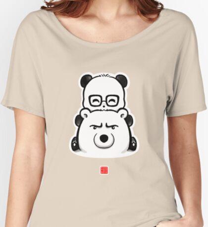 Panda And Polar Bear Relaxed Fit T-Shirt