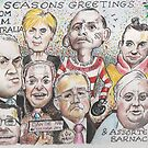 Team Australia - End of year greetings 2014  by Gary Shaw