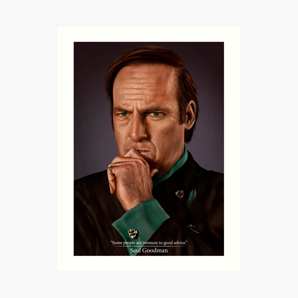 Saul Goodman Kunstdruck