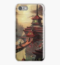 High Mountain Temples iPhone Case/Skin