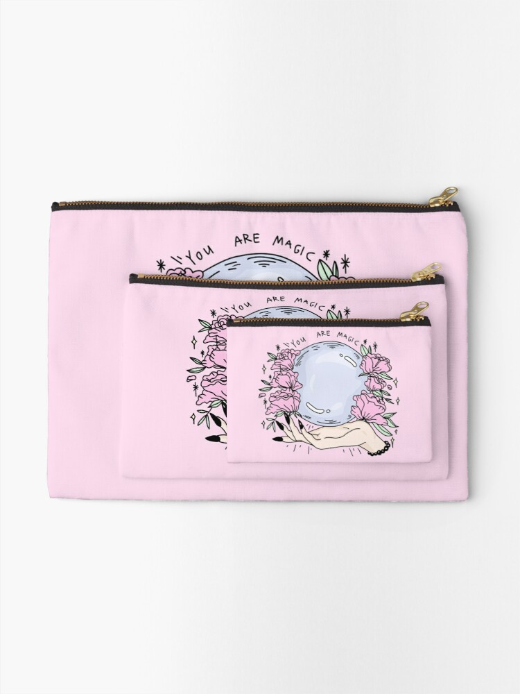 Alternate view of you are magic - pt2 Zipper Pouch