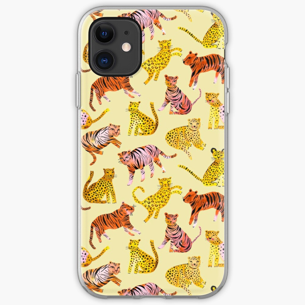 Tigers and Leopards Africa Savannah iPhone Case & Cover