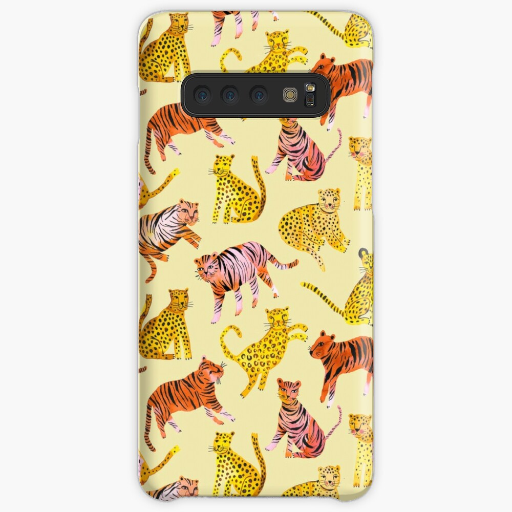 Tigers and Leopards Africa Savannah Case & Skin for Samsung Galaxy