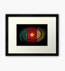 Cameroon Twirl Framed Print