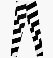 Black And White Trendy Fashion Accessory  Leggings