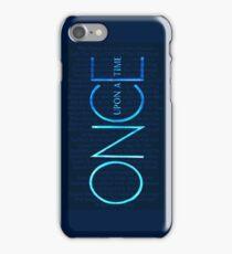 OUAT Episodes Logo iPhone Case/Skin