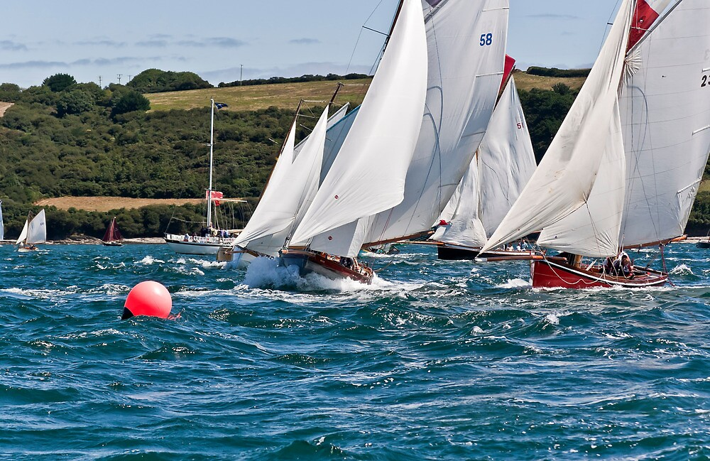 The Falmouth Working Boats Start. by GBR309