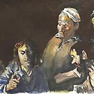Postcard from Europe - Caravaggio by Gary Shaw