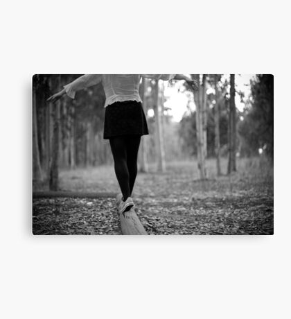 back to playground Canvas Print