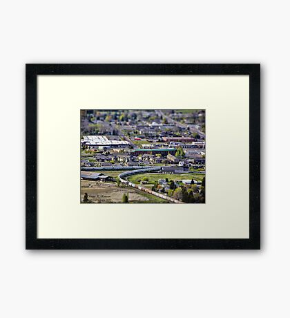 View of Kalispell Framed Print