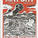 May Day Victoria Poster 2013 by Gary Shaw