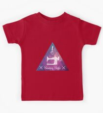 Sewing style retro Kids Tee
