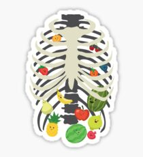 Eating healthy Sticker