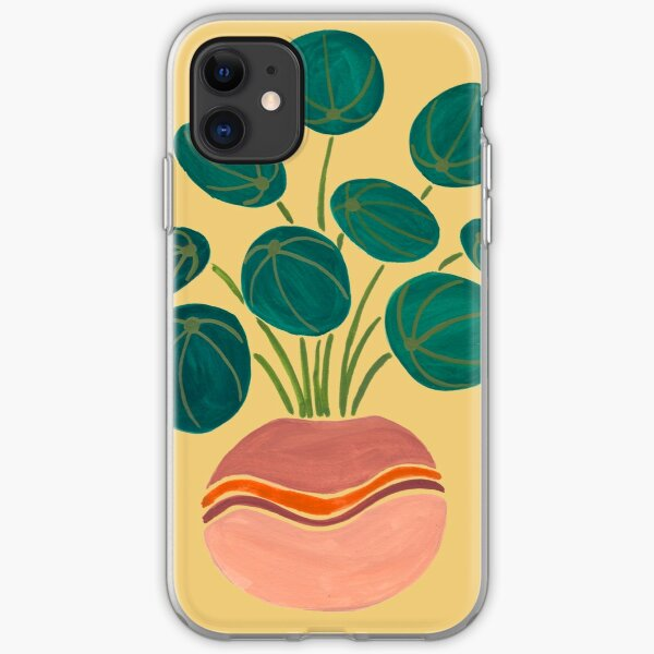 Pilea Plant iPhone Soft Case