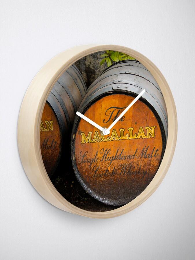Alternate view of MacAllan Casks Clock