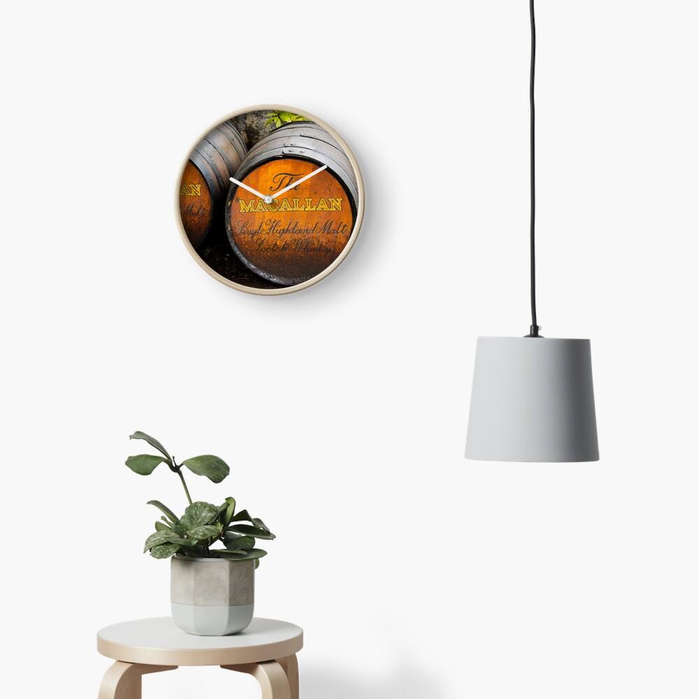 MacAllan Casks Clock