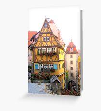 European Homes Greeting Card