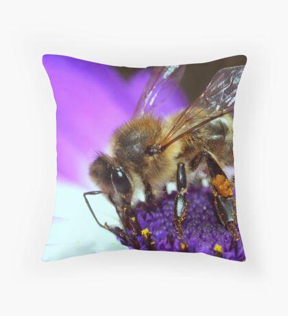 Bee Paradiso Throw Pillow