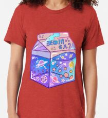 Milky Way Milk Carton Tri-blend T-Shirt