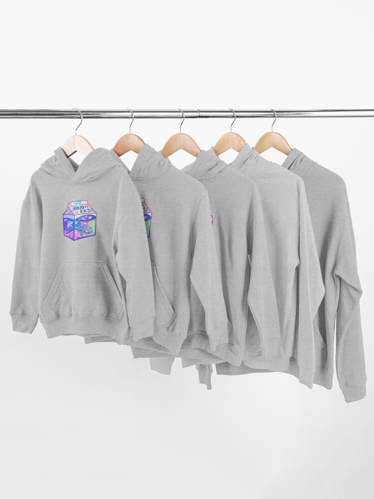 Alternate view of Milky Way Milk Carton Kids Pullover Hoodie