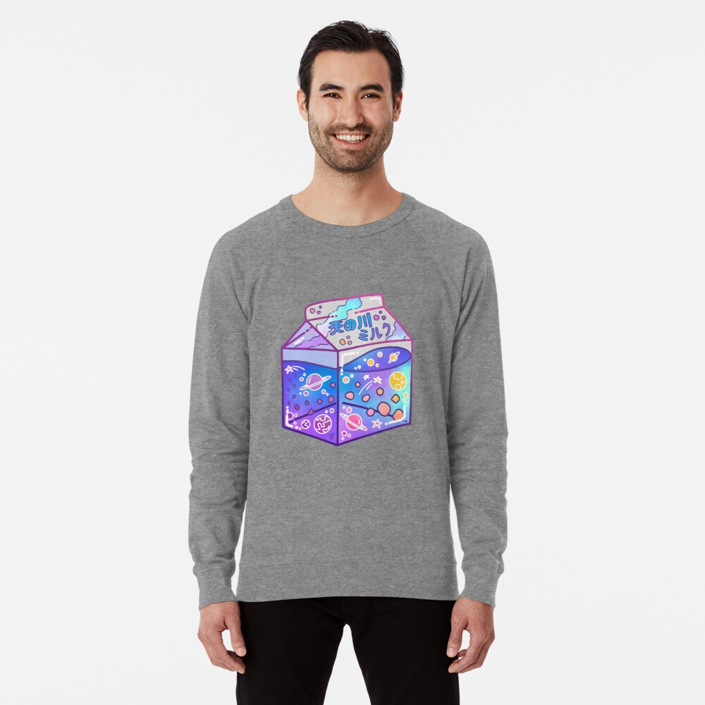 Milky Way Milk Carton Lightweight Sweatshirt