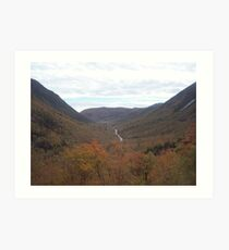 Crawford Notch Art Print