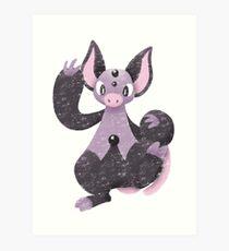 Teeter dance Art Print