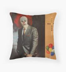 Clowning with God Throw Pillow