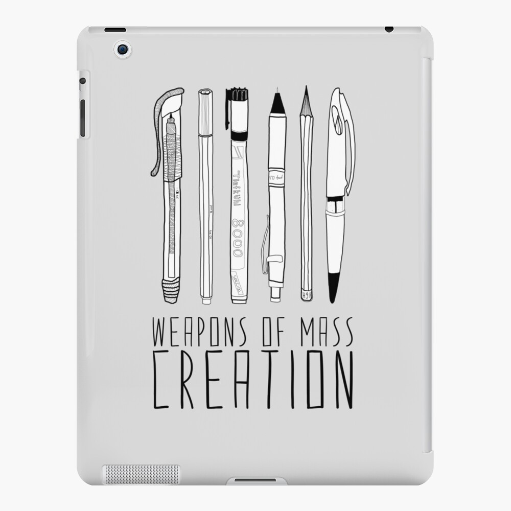 Weapons Of Mass Creation iPad Case & Skin