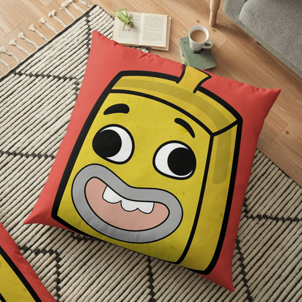 Banana Joe - The Amazing World of Gumball Boxheadz Floor Pillow