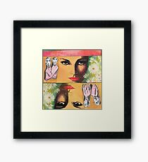 Two Sides of Eve Framed Print