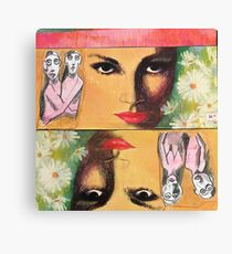 Two Sides of Eve Canvas Print