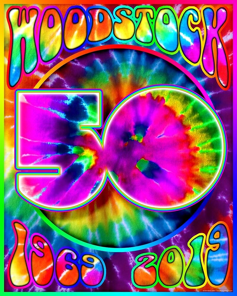 Woodstock 50th Anniversary Poster Design II by BLTV