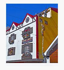 Pequeña historia fueguinea..... Photographic Print