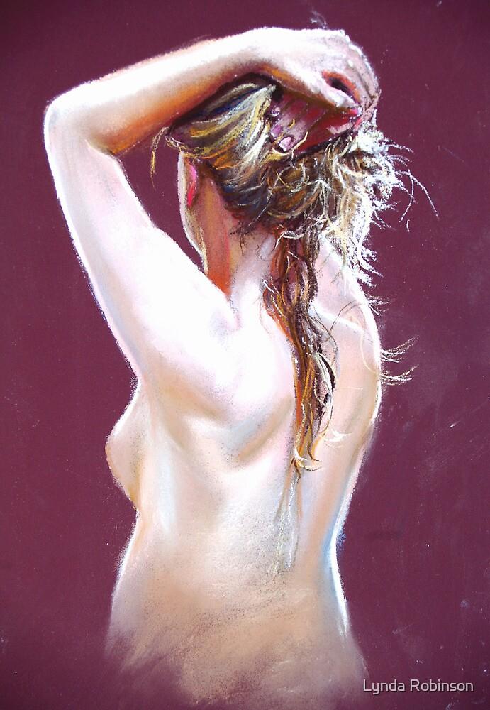 Nude Study (Pastel) by Lynda Robinson
